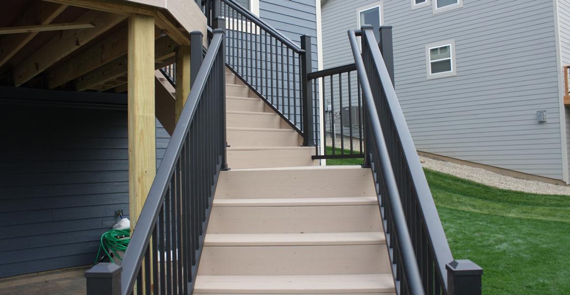 UltraLox Aluminum Stair Railing Panel